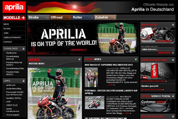 Aprilia Motorrad Deutschland