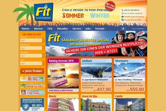 Fit Jugendreisen