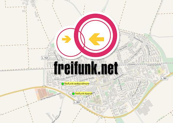 Freifunk: webandmore bietet freies WLAN für alle