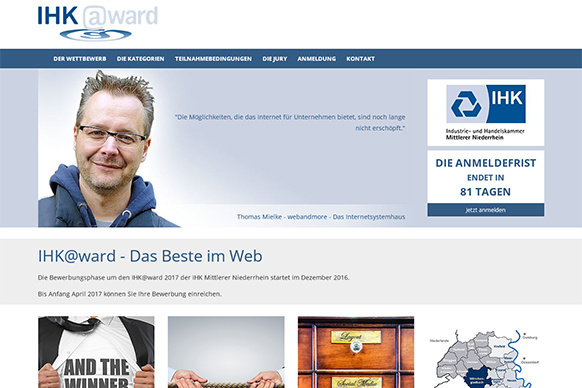 IHK Award 2017 – Auf der Suche nach den Besten im Web