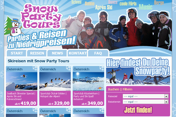 Snow Party Tours