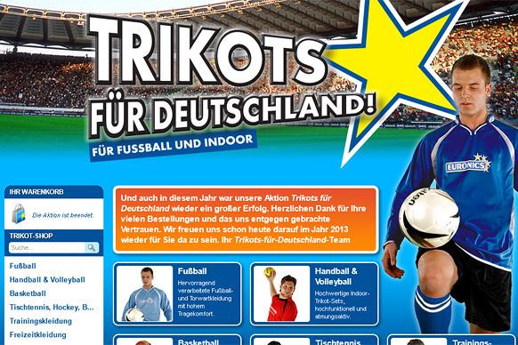 Trikots für Deutschland