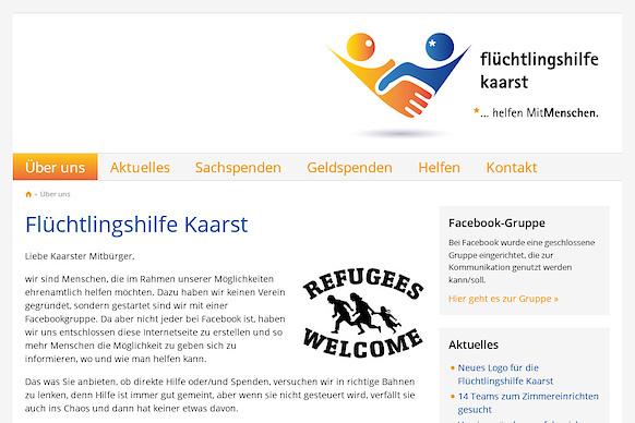 Flüchtlingshilfe Kaarst