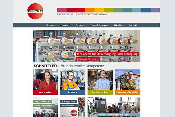 Website der Schnitzler GmbH erstrahlt in neuem Glanz