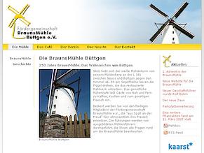 BraunsMühle mit neuer Website