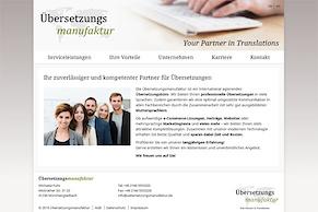 Die Übersetzungsmanufaktur ist online