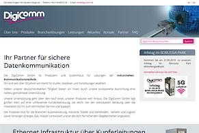 DigiComm-Website