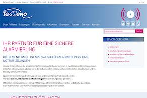 TeMeno-Website