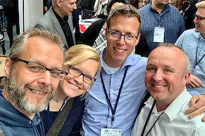 Die alljährliche e-Marketing-Crew: webandmore & Friends