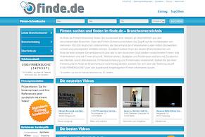 finde.de: Das neue deutschlandweite Branchenverzeichnis ist online