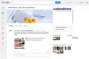 Google+ jetzt mit Firmenseiten