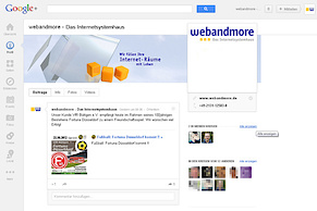 webandmore bei Google+