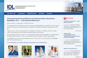 IDL NRW e.V. mit neuer Website