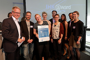 Der 3. Platz in der Kategorie Technik: www.gob.de (Foto: IHK)