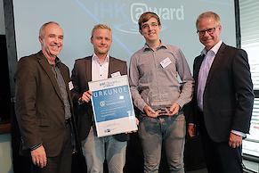 Die Gesamtsieger: www.gourmetfleisch.de (Foto: IHK)