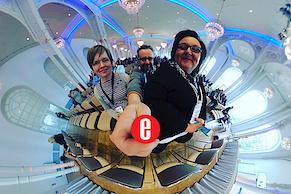 360°-Selfie - Team webandmore und Tanja Neumann von der IHK
