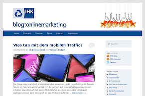 IHK Blog Onlinemarketing