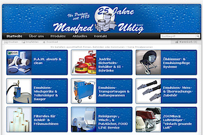 Manfred Uhlig mit neuer Website