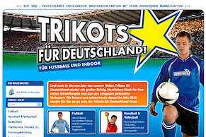 Trikots 2012 Website