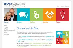 Neue Website für die Becker Consulting GmbH