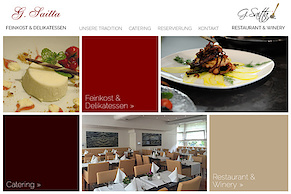 Neue Website für die Saitta Restaurants in Düsseldorf