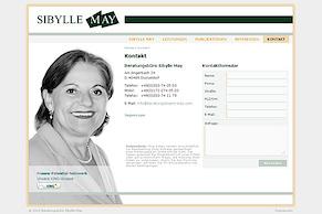 Neue Website für Sibylle May
