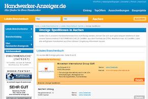 Relaunch der Handwerker-Anzeiger.de Website
