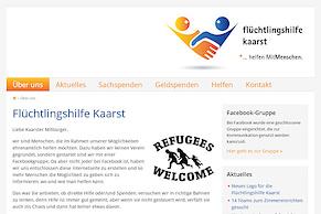 Unterstützung für die Flüchtlingshilfe Kaarst