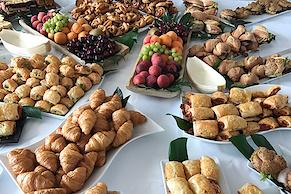Erstmal Frühstück ;-)
