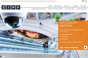 Website-Relaunch für die H.W. Zipf GmbH
