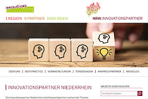 Website-Relaunch für die Innovationspartner Niederrhein